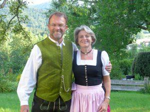 Ihre Gastgeber Karin und Peter Hoess