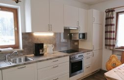 Wohnküche mit Küchenzeile
